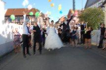 Hochzeit klein